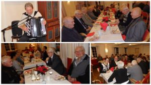 Buvik Pensjonistforening: JULEBORD MED JAN BORSETH