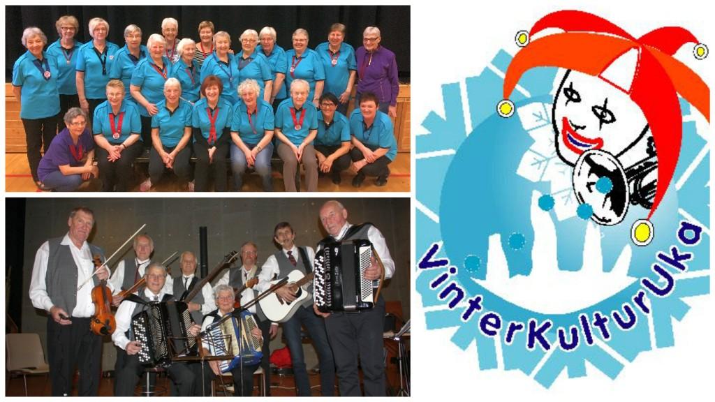 Øverst: Noen i fra Skaun Seniordans 2016 (facebookbilde). Nederst: Heimdal Spelemannslag