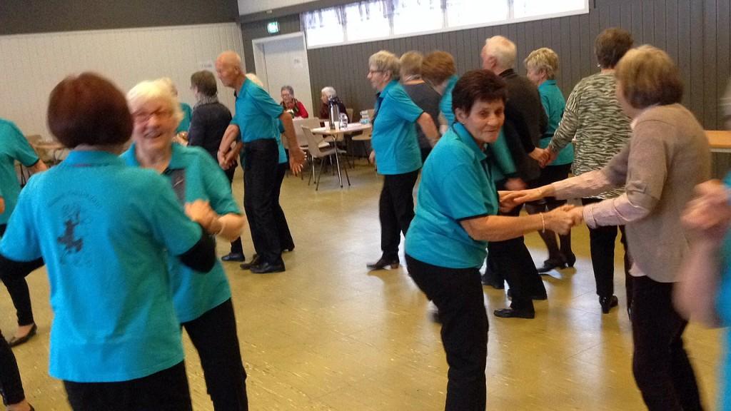 Seniordanserne i sving