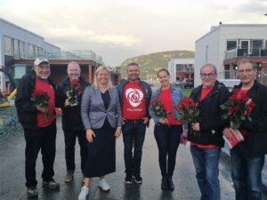 Valg 2017: Arbeiderpartiets sekretær på besøk i Buvika