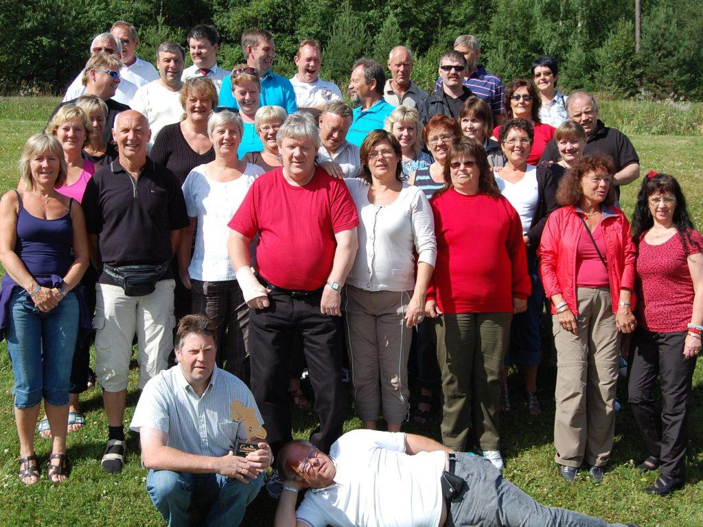 Gofot'n på tur i 2008. Bildet tatt ved Dovreskogen. (Foto: Privat)