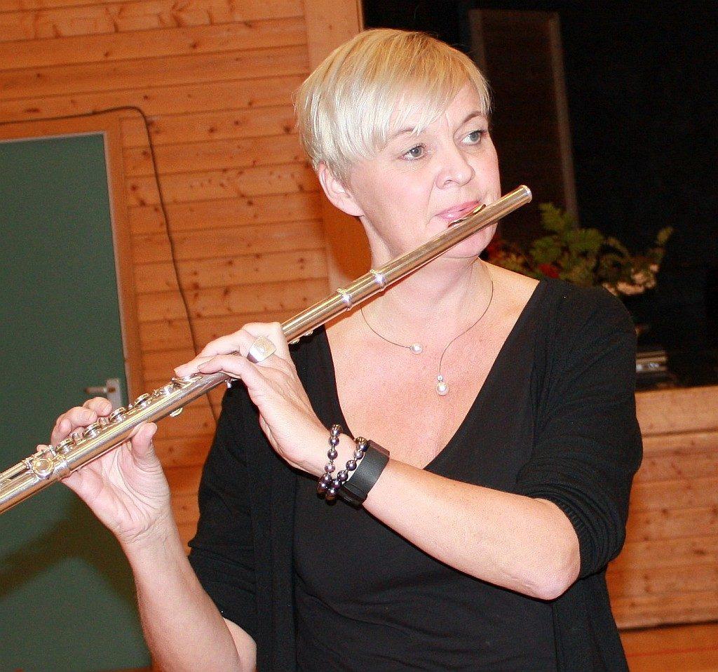 Hege Segtnan. lærer på Kulturskolen og med i Segtetten.