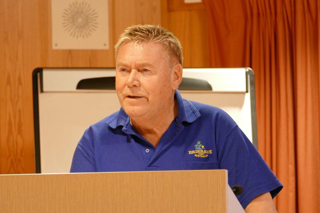 Jakob Margido Esp holdt et sterkt og personlig foredrag under Verdensdagen for psykisk helse i Skaun.