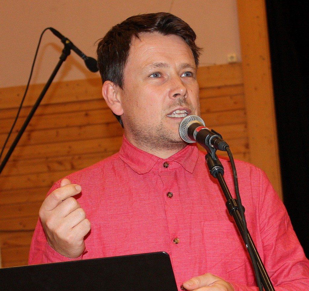 Representant for FN-sambandet i Trondheim, Tor Arne Alseth.