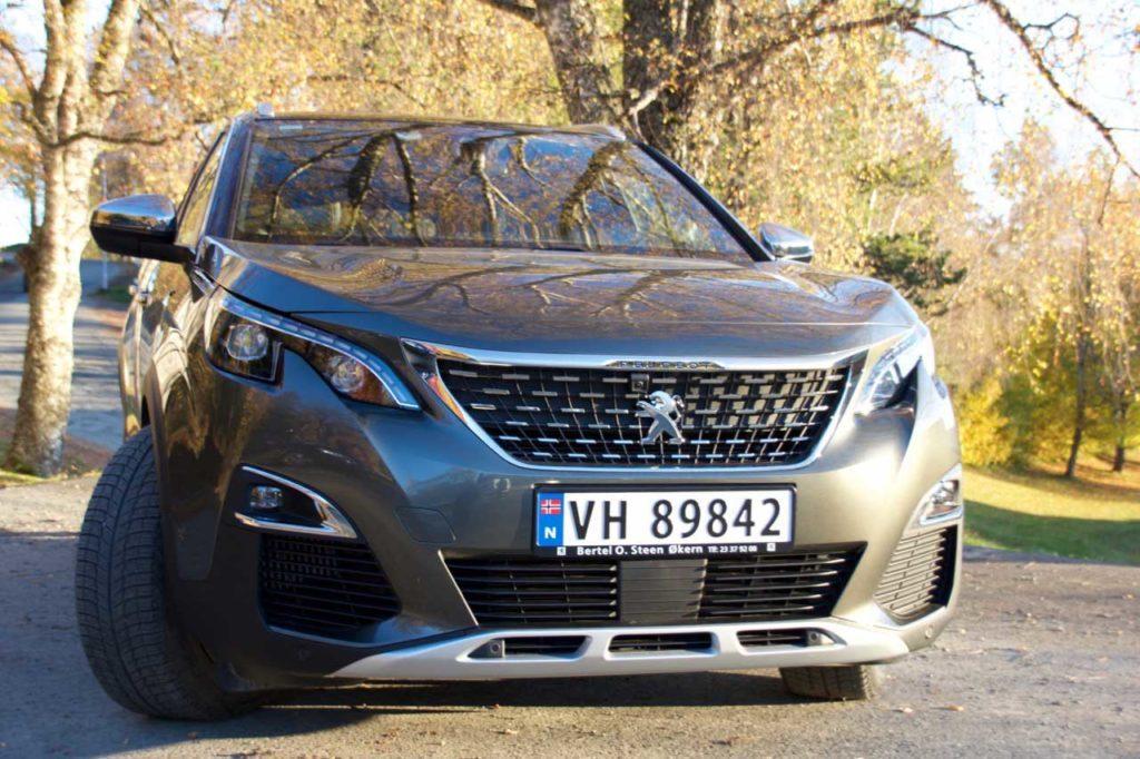 Nye Peugeot 5008 imponerte undertegnede.