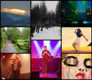 Noen av bidragene fra fjorårets UKM